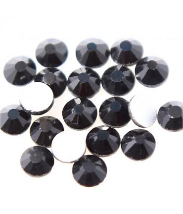 Strass bijoux à coller 4,6 mm lot de  20 pièces - Noir