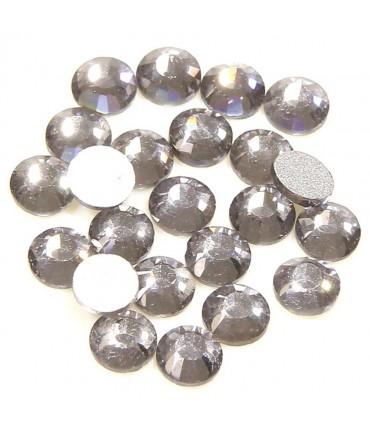 Strass bijoux à coller 4,6 mm lot de  20 pièces - Gris