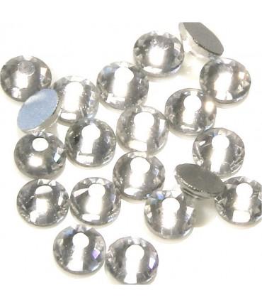 Strass bijoux à coller 6 mm lot de  20 pièces - Blanc