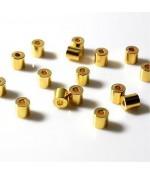 Perles tubes 4 mm (50 pièces)