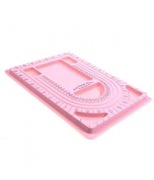 Boitier compteur de perles 6 compartiments en plastique