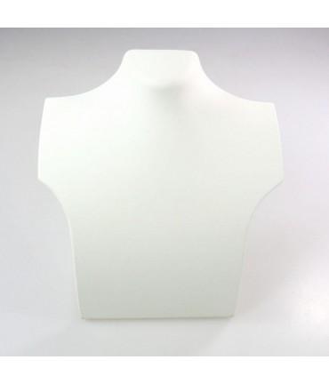Presentoir pour collier buste 20 cm - Noir