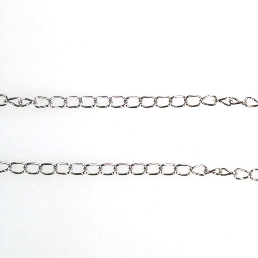 Chaine au metre bijoux chainette 3 5x5 5mm - Chaine au metre ...