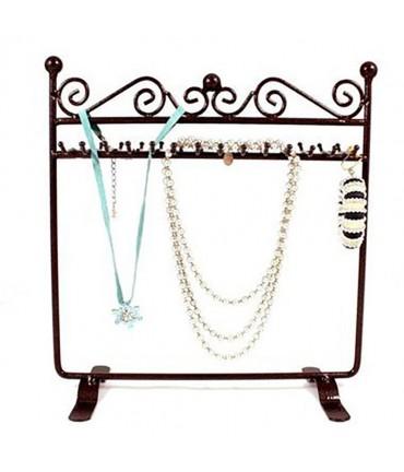 Porte bijoux cadre Dressing bracelet collier et accessoire - Rouille patiné