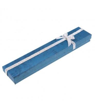 Ecrins 4x21 pour bracelets pour l'emballage de bijoux (12 pièces) - Bleu