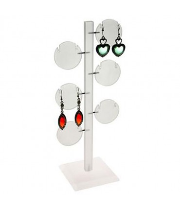 Presentoir arbre à boucle d'oreille Ronds (6 paires)