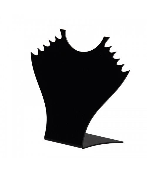 Présentoir collier Plaque pour stand 16,5 cm pour 5 colliers