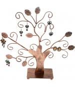 Arbre à boucle d'oreille et bijoux Fioriture (20 paires)