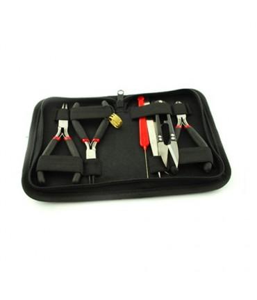 Kit outils pour la création de bijoux (8 pièces) - Noir
