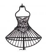Porte bijoux mixte trés grande poupée mannequin tissu