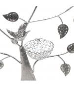 Arbre à boucle d'oreille Oiseau (50 paires)