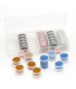 Kit de perles de rocaille 2mm - Assortiment