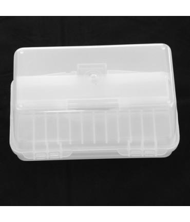 Boîte de rangement plastique avec poignée