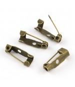 Broche épingle création bijoux 15mm ( 10 Pièces )