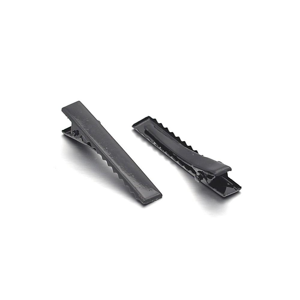 pince crocodile cheveux support fimo 10 pi ces 40 mm. Black Bedroom Furniture Sets. Home Design Ideas
