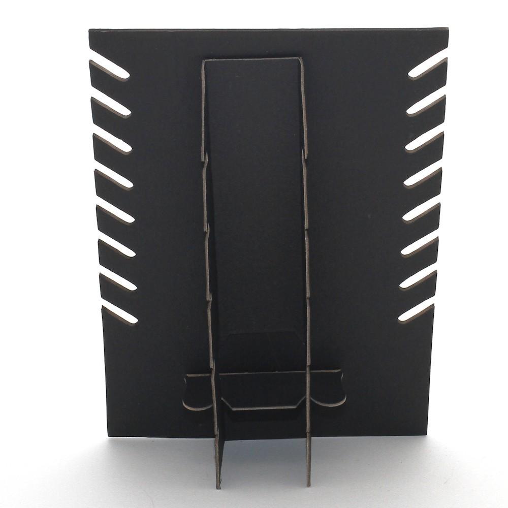 Noir 8 Colliers Porte Bijoux Presentoir Collier Plaque pour Stand h 28 cm
