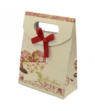 Pochette cadeau 16.5x12.5 cm Lettre lot de 12