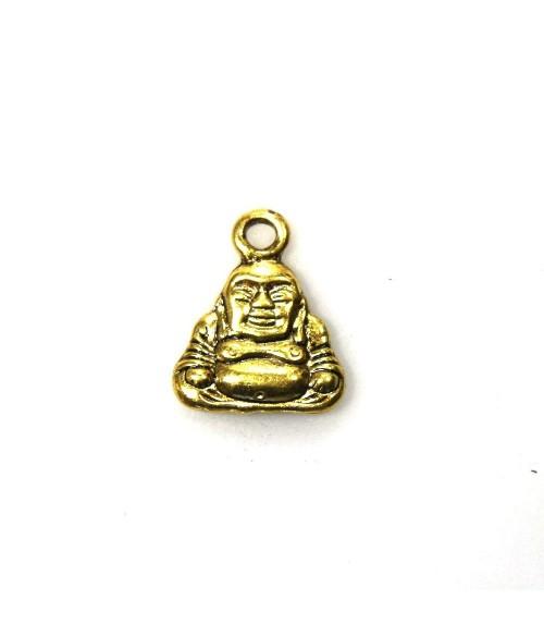 Pendentif breloque style tibétain Bouddha doré