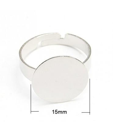 Supports de bagues tamis 15 mm (10 pièces)