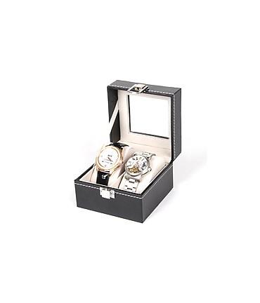 Coffret à montres pour ranger et exposer (2 montres)