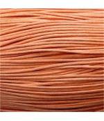 Fil coton ciré 2 mm (10 mètres) - Orange