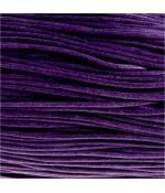 Fil coton ciré 2 mm (10 mètres) - Violet