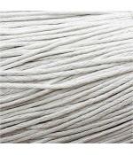 Fil coton ciré 1,5 mm (10 mètres) - Blanc