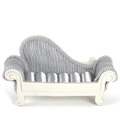 Porte bague sofa rayures