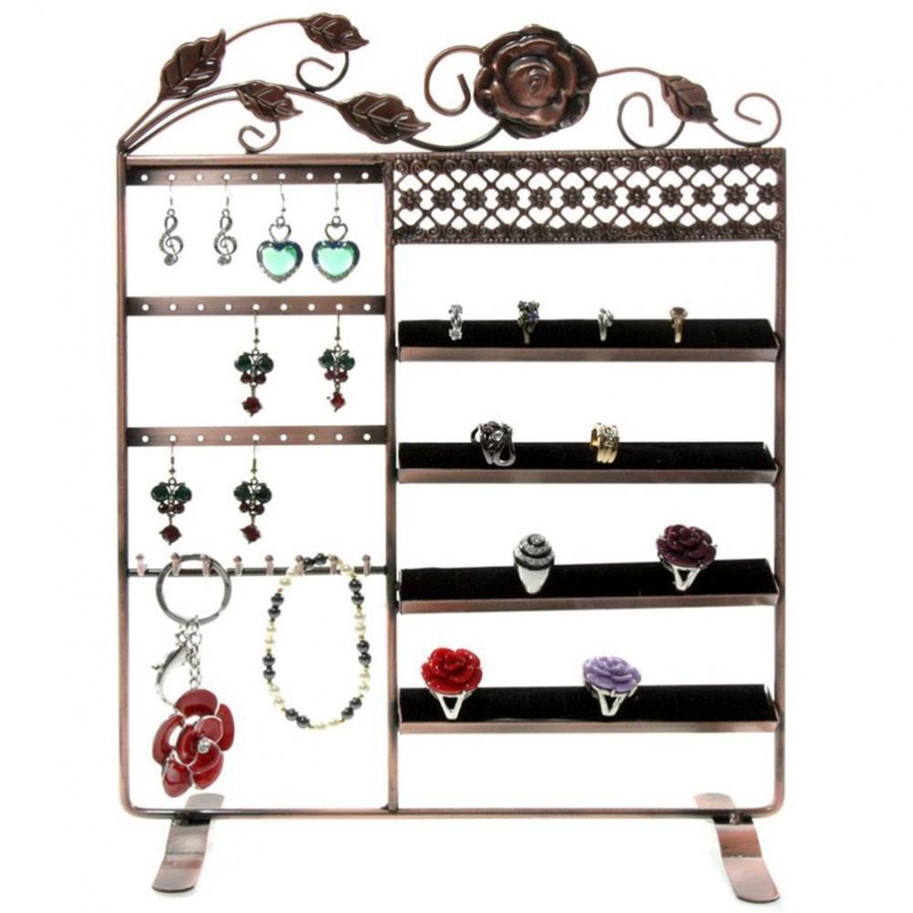 cadre porte bijoux fleur pour boucles bracelet et bagues. Black Bedroom Furniture Sets. Home Design Ideas