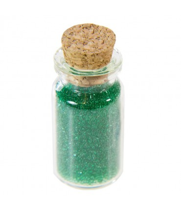 Microbilles caviar translucides en fiole - Vert
