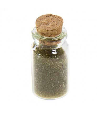 Microbilles caviar translucides en fiole - Kaki