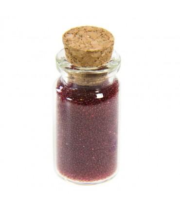 Microbilles caviar translucides en fiole - Bordeaux