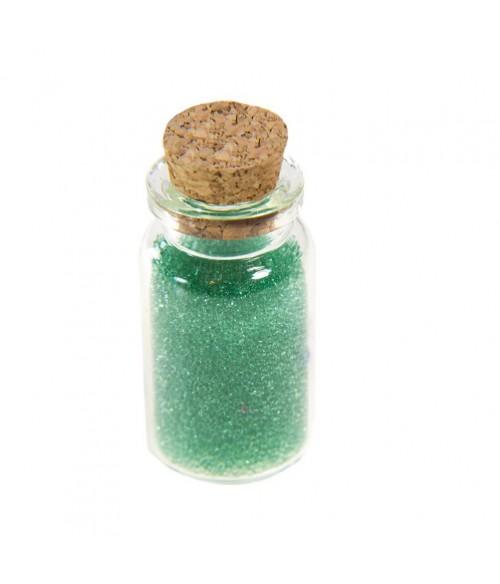 Microbilles caviar translucides en fiole