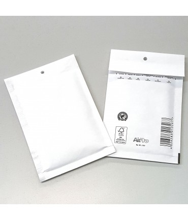 Enveloppes à bulles 140x225 mm blanches Lot de 200