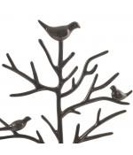 Porte bijoux arbre plastique avec corbeille