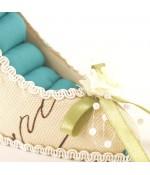 Porte bague escarpin multicolore
