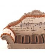 Porte bague canapé Musique