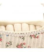 Porte bague sac à main fleurs