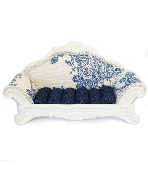 Porte bague canapé Bleu