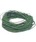 Fil coton ciré 1 mm (10 mètres) - Vert olive