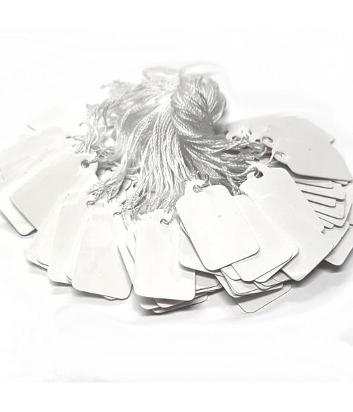 Etiquette prix pour bijoux 23 x 13 mm (100 pièces)
