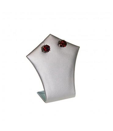 Mini support bijoux Pique pour collier ou boucle d'oreille H 7 cm - Argenté