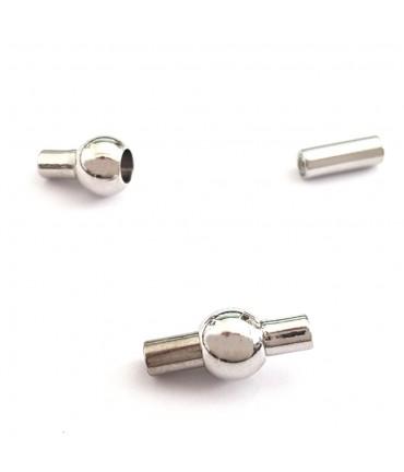Fermoir aimanté 13x6 mm (5 pièces)
