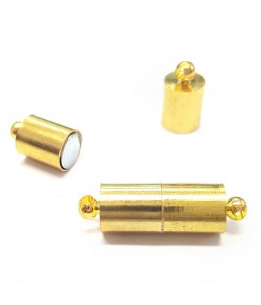 Fermoir magnétique Cylindre 19 x 6 mm (5 pièces)