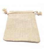 Pochettes coton 10 x 8 cm avec cordon lot de 10