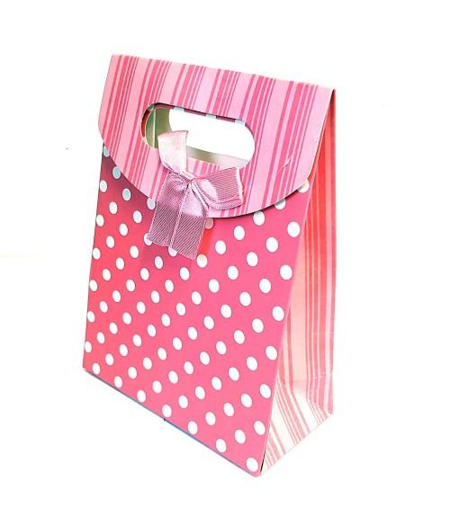 Pochette cadeau 16.5x12.5 cm Paris lot de 12