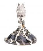 Porte bijoux poupée robe de soirée