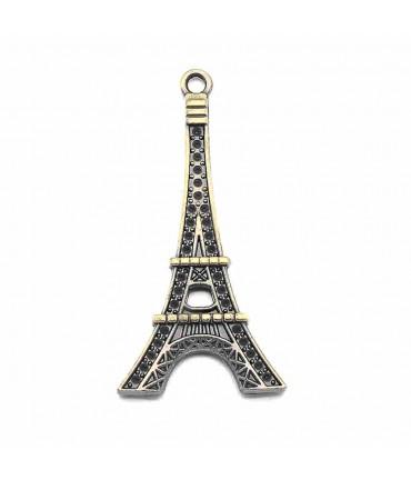 Grande breloque tour Eiffel Bronze