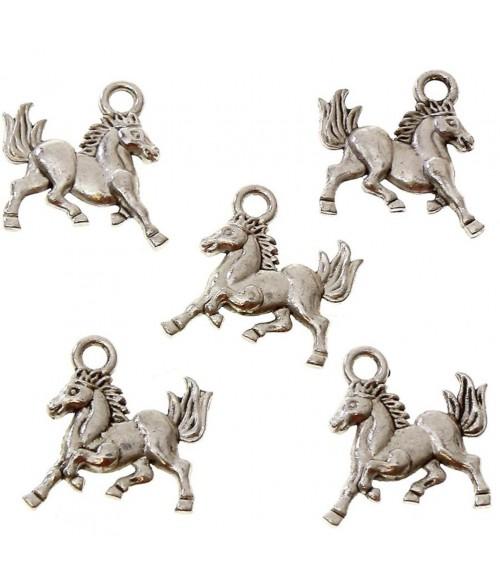 Breloque pendentif cheval style tibétain