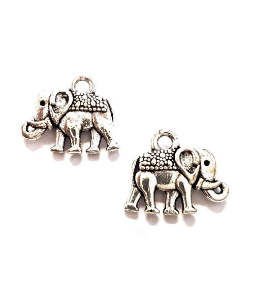 Breloque pendentif Eléphant cuivre